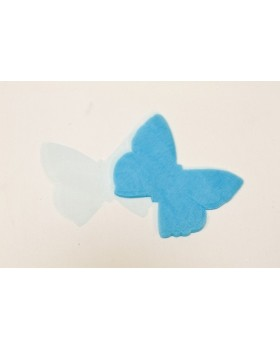 Papillon organza Turquoise x50