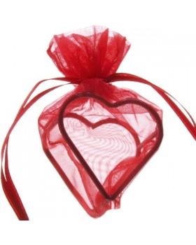 4 Sachets coeur armuré