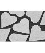 Cœurs en papier (75 grs)