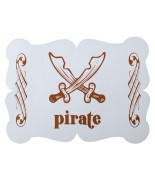 6 Sets de table Pirate Ciel