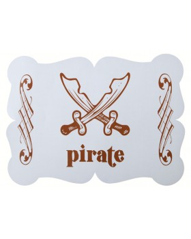Set de table Pirate (6 pcs)