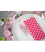Serviette de table pois (20 pcs)