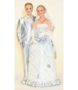 Statue Couple Noce d'argent