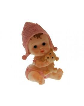 Statue bébé bonnet