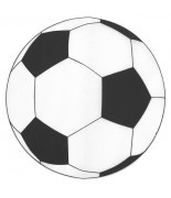6 Sets de table rond foot