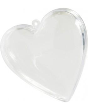 Grand coeur plastique
