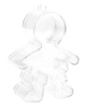 Boîte garçon transparente