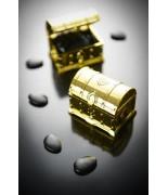 2 Malles aux trésors métallisée