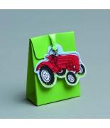 Mini pochon + Vignette Tracteur