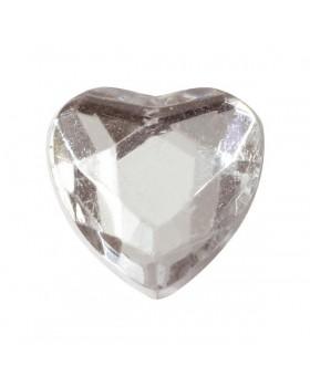 12 Petits cœurs en diamant