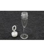 6 Bulles de savon forme flute champagne
