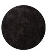 50 Sets de table rond uni Noir