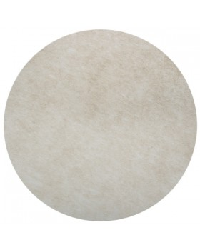 50 Sets de table rond uni Taupe