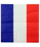 20 Serviettes de table France