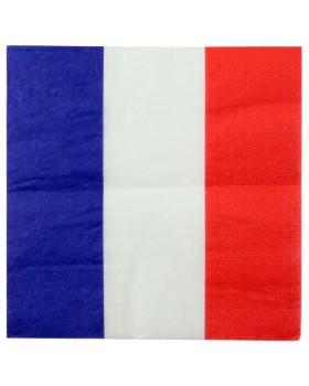 20 Serviettes de table France