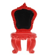2 Marque-places chaise Rouge