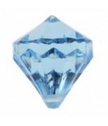 6 Perles pampilles diamant Turquoise