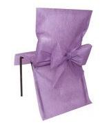 10 Housses de chaise avec noeud Parme