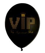 8 Ballons VIP Noir