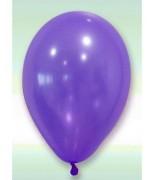 24 Ballons nacrés Prune