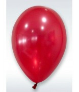 24 Ballons nacrés Rouge