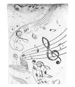 Chemin de table musique
