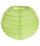 2 Lampions 10 cm Vert