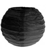 2 Lanternes 10 cm Noir
