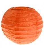 2 Lanternes 10 cm Orange
