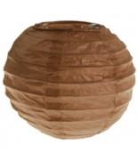 Lanterne 10 cm Chocolat