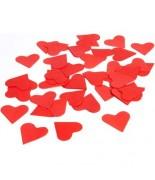 Coeurs en papier Rouge 75 grs