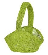 Panier Sisal Vert