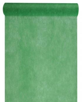 10 M Chemin de table intissé uni Vert sapin