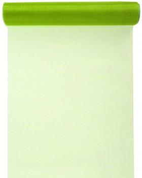 Chemin de table Cristal vert