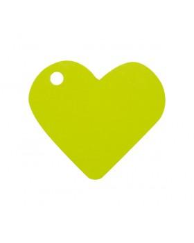 10 Marque-places cœur Vert