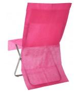 4 Housses de chaise opaque Fuchsia