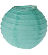2 Lanternes 10 cm Vert d'eau