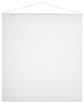 12 m Tenture de salle Blanc