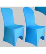 Housse de chaise Lycra Turquoise