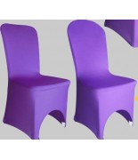 Housse de chaise Lycra Violet