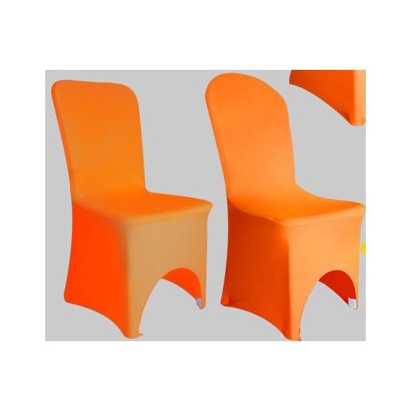 Chaise Orange House De Lycra Location Decostylepassion bgIYfyv76m