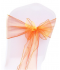 Noeud en organza Orange