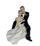 Statue Couple Mariés enlacés