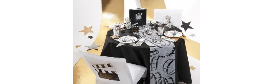 d co de table th me cin ma decostylepassion. Black Bedroom Furniture Sets. Home Design Ideas